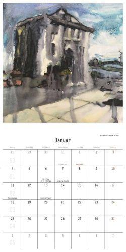 Renate Geiter - Südstadt-Kalender 2021 - Malerei