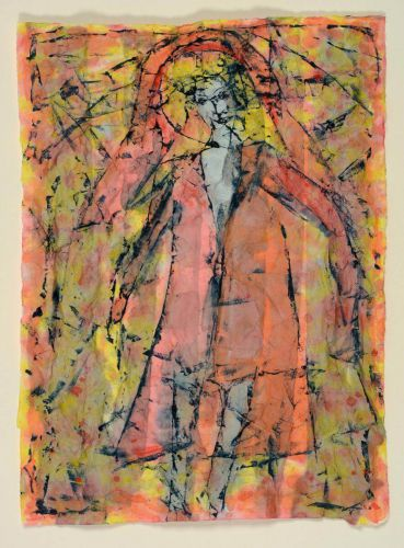 <em>kunstwerk/artwork bearbeiten</em>: Frau im Mantel 03.12.2019 - 16:38