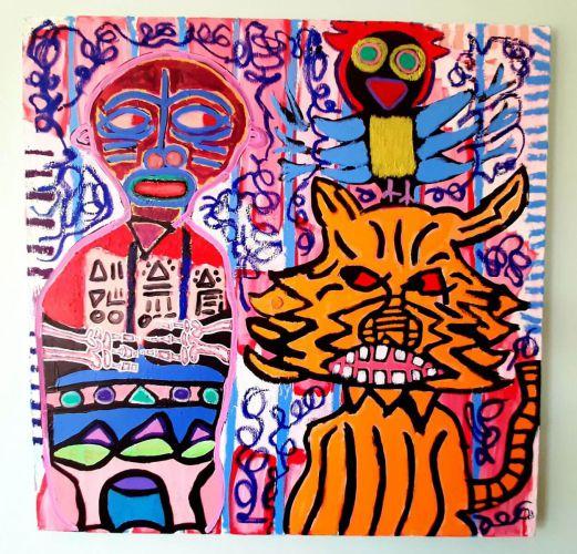 Present to my mind - Djungle Fever - Malerei