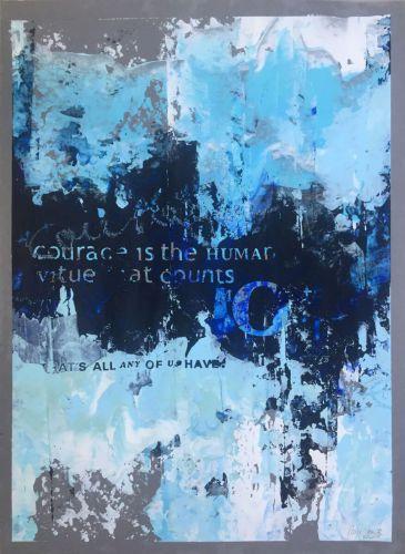 <em>kunstwerk/artwork bearbeiten</em>: »COURAGE IS THE HUMAN VIRTUE« 11.05.2020 - 12:43