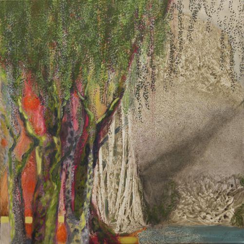 Eva Löffelholz - Farbwald II - Malerei