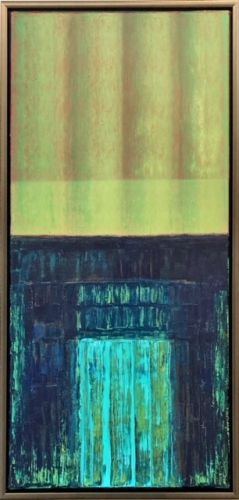 Ursula Krenzler - entrance II - Malerei