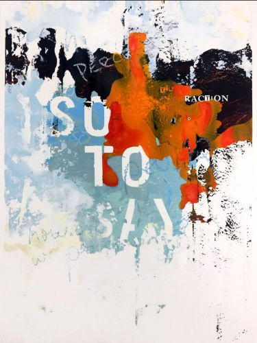 <em>kunstwerk/artwork bearbeiten</em>: »SO TO SAY« 11.05.2020 - 12:42