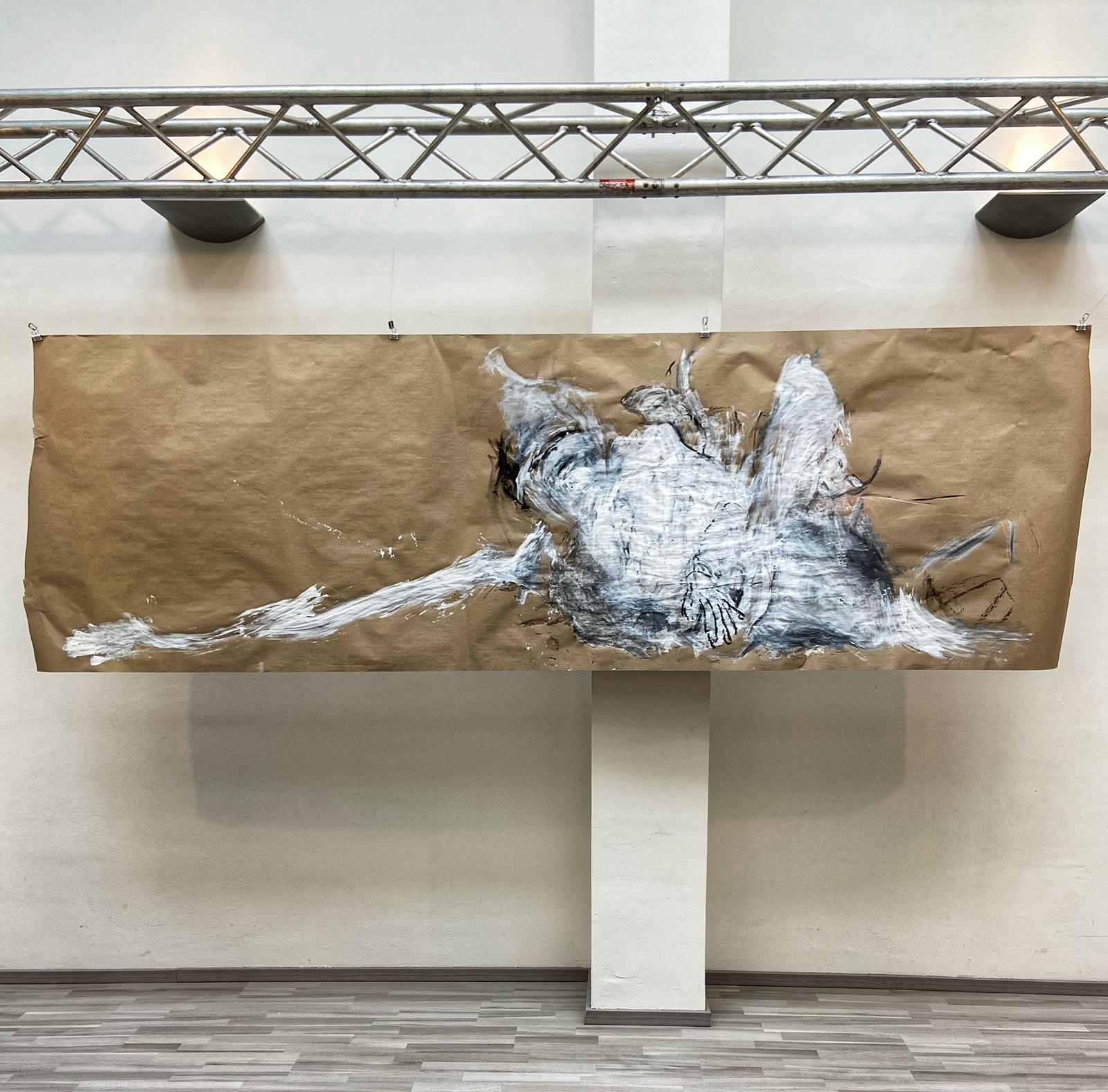 Mensch Sein und Ethik | Reaktion auf Kunstwerke von susebee in der aktuellen Ausstellung ,,Mensch Sein''